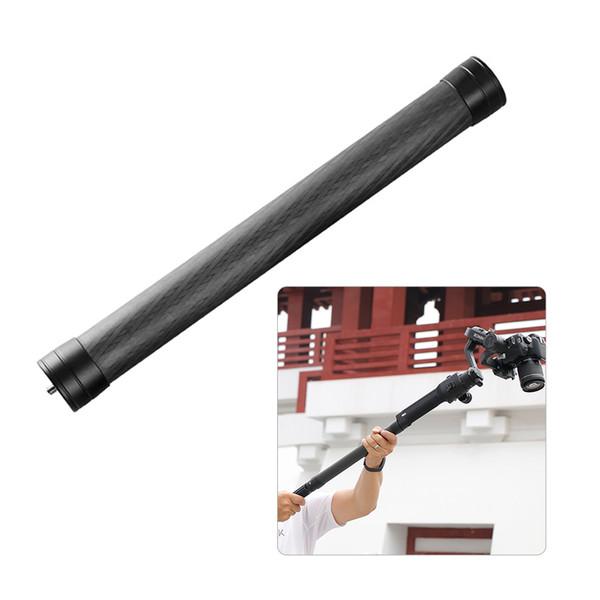 2019 Professional Stabilizer Extension Pole Stick Rod Monopod Carbon Fiber  With 1/4Screw 35cm Long For DJI Ronin Zhiyun Crane Feiyu From Knite08,