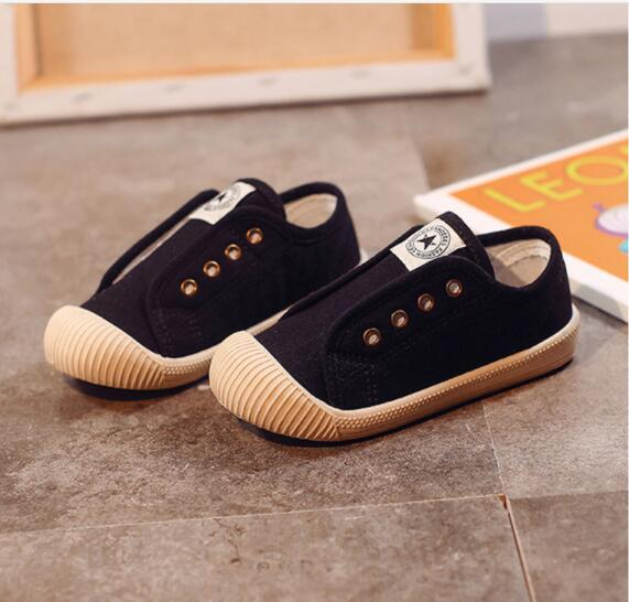 New Children Shoes Spring Autumn Breathable Comfortable Kids Sneakers Boys Girls Canvas Athletic Shoes Toddler Baby Shoes Eur Size 16-35