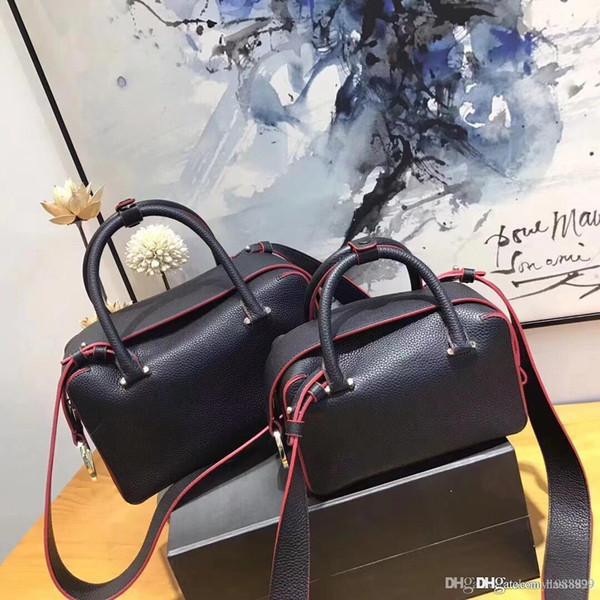 2018 nouveau Original Haute Qualité classique Del vaux Brillant sac à bandoulière Casual Tote Véritable Fourre-Tout en Cuir à la main Mode Lady Sac