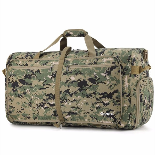 Gonex 100L Cordura Travel Duffle Bag Foldable Luggage Duffel Handy Shoulder Bag Tactical Military Style Business Trip Gym Sports #369145