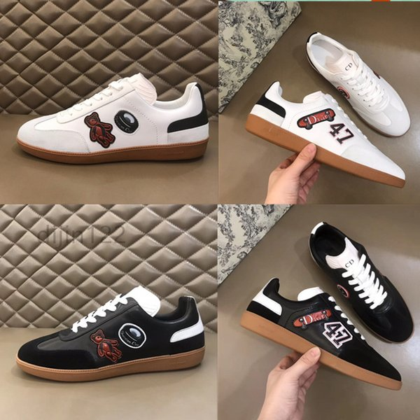best selling The year in New fashion gentleman luxury 2020 brand advanced manual leisure sneaker Free shipping designerMen casual shoes