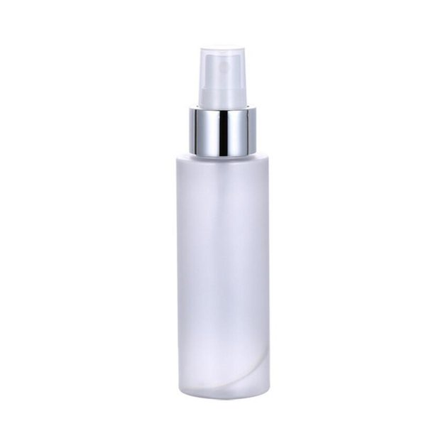 wholesale hot 100ml PET frosted Plastic Empty Spray Bottle Travel Makeup Perfume Atomizer Container Fast Shipping