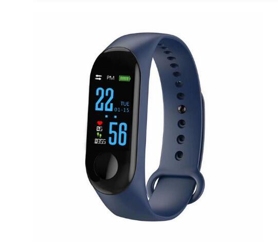 Wholesale rechargeable USB smart bracelet fitness tracker watch wristband support various languages heart rate waterproof IP67