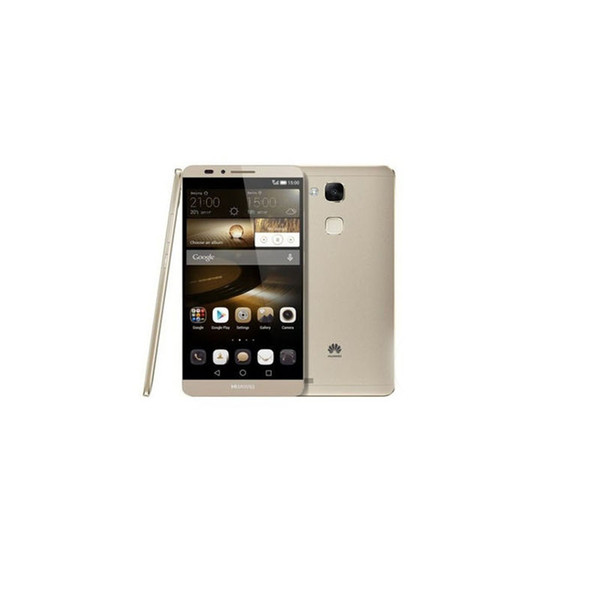 Huawei Ascend Mate7 Mate 7 4G LTE Telefon 2 GB RAM 16G / 32G / 64G ROM 1920 * 1080 4000 mAh NFC Parmak Izi 4000 mAh Orijinal Yenilenmiş Mobilephone