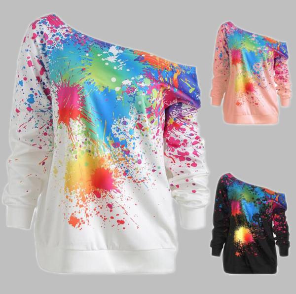 Yeni Gelmesi Kadınlar için Tasarımcı Hoodies Kazak 19ss Sonbahar Marka Hoodies Kazak Kadınlar Lüks Giyim Tops 3 Renkler