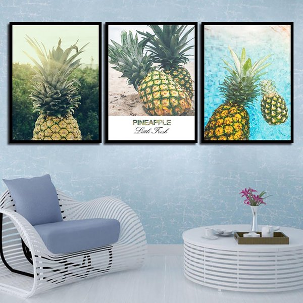 Awe Inspiring 2019 For Baby Room Painting Picture Kids Bedroom Delicious Pineapple Wall Art Canvas Nordic Posters Nursery Hd Prints Decoration From Xu793737893 Creativecarmelina Interior Chair Design Creativecarmelinacom
