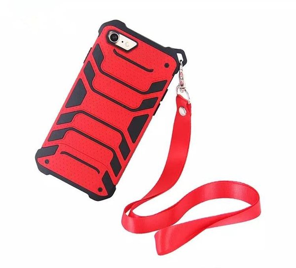 Spider-Man New Design Case For Iphone 7/8/X/XS With Lanyard Cell Phone Protective Cases For Samsung S9 S9+ Free Shipping