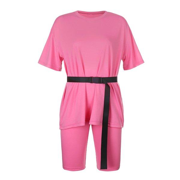 Pink Set With Belt