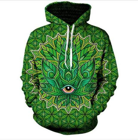 Fashion 3D Printed Psychedelic Men Women PulloVer Hoodies Street Wear Casual Hip Hop Pockets Sweatshirt Clothing ZGXL077