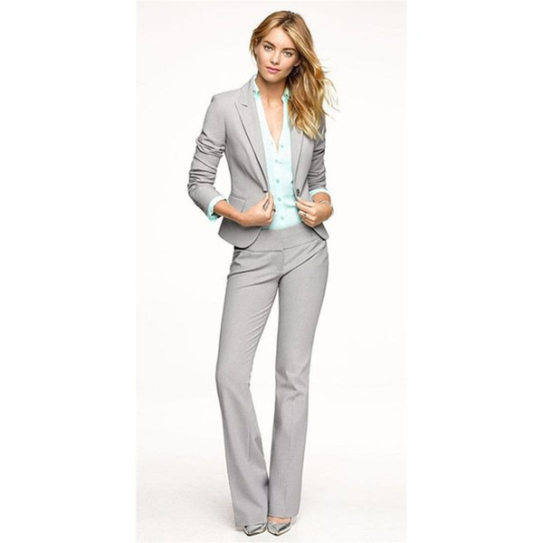 Now the most popular ladies suit two-piece suit (jacket + pants) ladies business office formal suit support customization