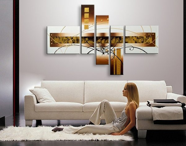 handmade oil painting on canvas modern 100% Best Art Modern Abstract oil painting original directly from artist COXI5-050
