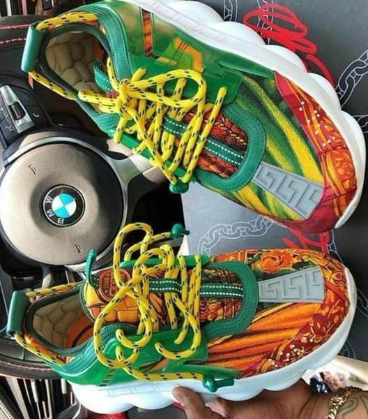 wcdhtms Chaîne De Réaction Sneaker Toutes Les Couleurs Noir En Cuir De Haute Qualité Baskets De Luxe Designer Femmes Hommes Amoureux Trainer Casual Chaussures 9187