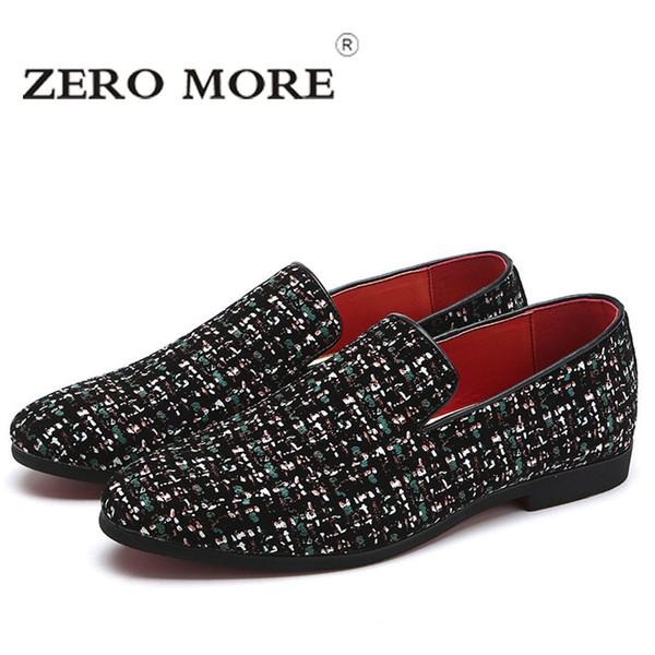 zero more glitter branded shoes men designer luxury loafers
