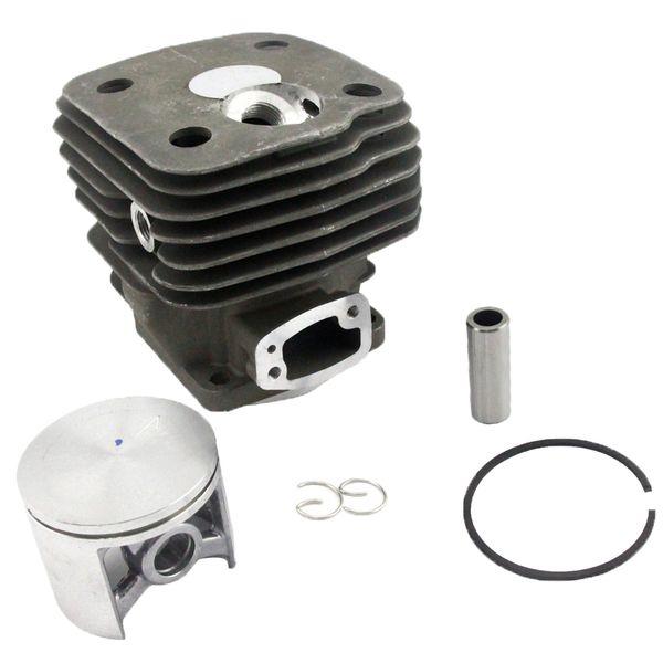 54MM Cylinder Piston Kit Fits Husqvarna 181 281 288 Chainsaw Part # 503 90 74 71 By Farmertec