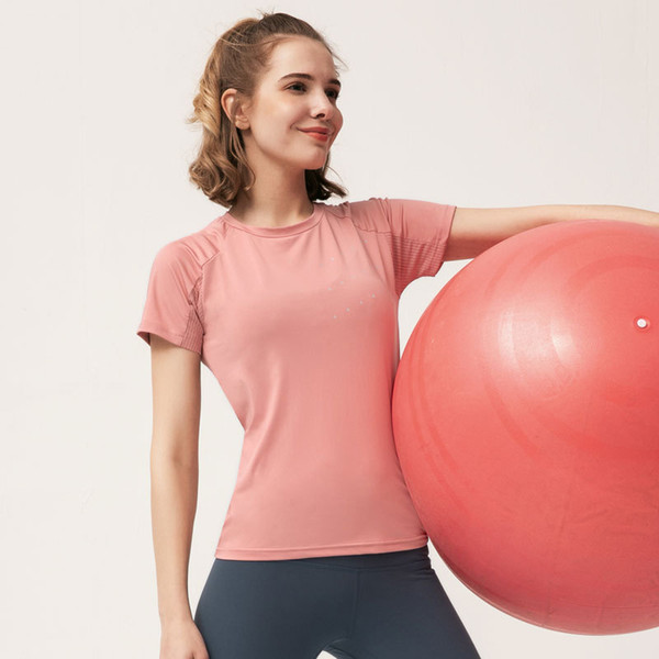 Quick Dry Stretch Slim Fit Yoga Shirt Fitness Top Women Running T-shirts Female Sports Top Workout Tops Camisetas Deporte Mujer