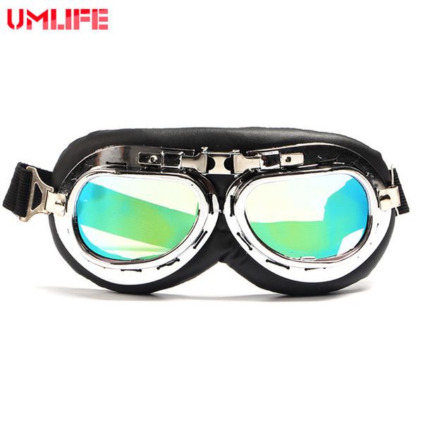 MELIFE Straße Motocross Brille Vintage Männer Brille Sonnenbrille Schnee Ski Gesichtsmaske Sport Racing Radfahren Motor MX Helm Goggle