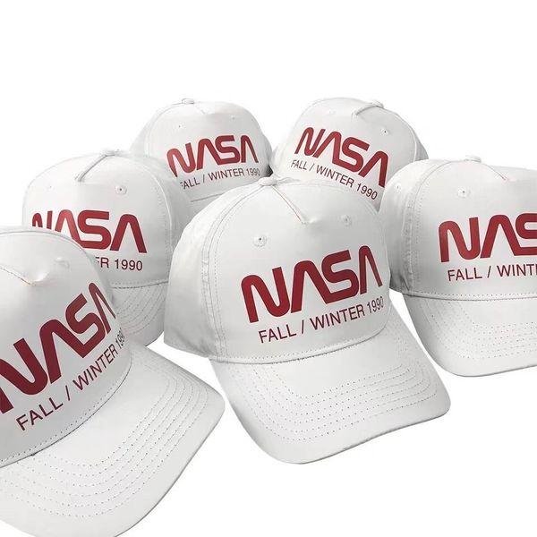 Heron Preston HP X NASA Cap Embroidery Logo 3m Reflective Sports Caps For Men And Women Baseball Hat Cap HFWPMZ006