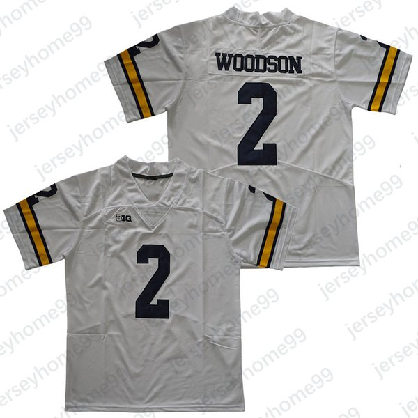 2 Charles Woodson / Branco