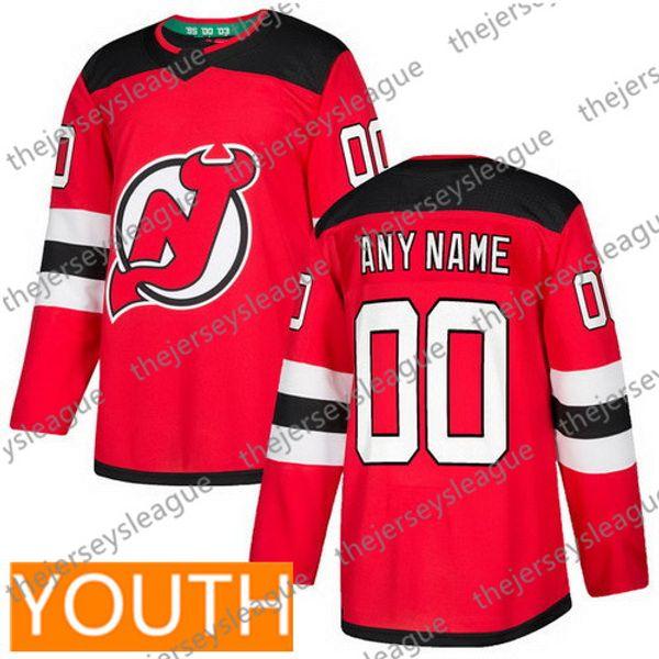 청소년 빨간색 (S-XL)
