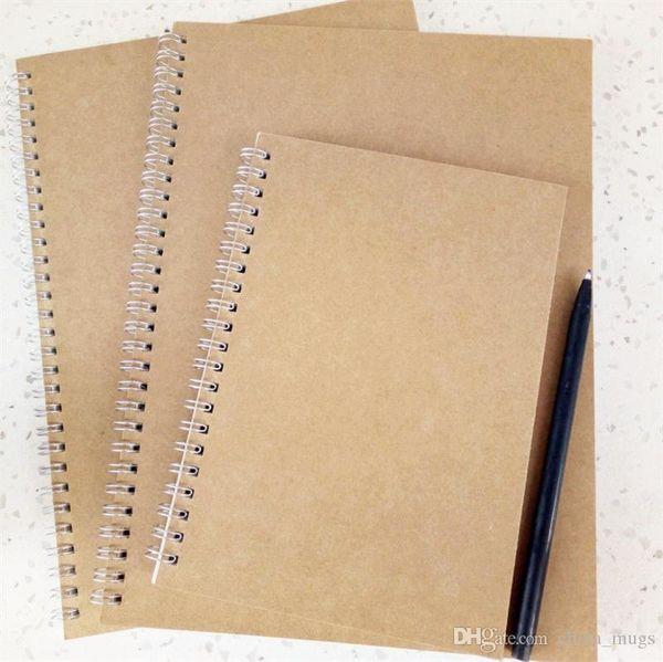 Classic Spiral Notebook Filler paper Refill Insert Size 190*134mm Diy Journal Inner Core Planner Diary Notebook Accessories
