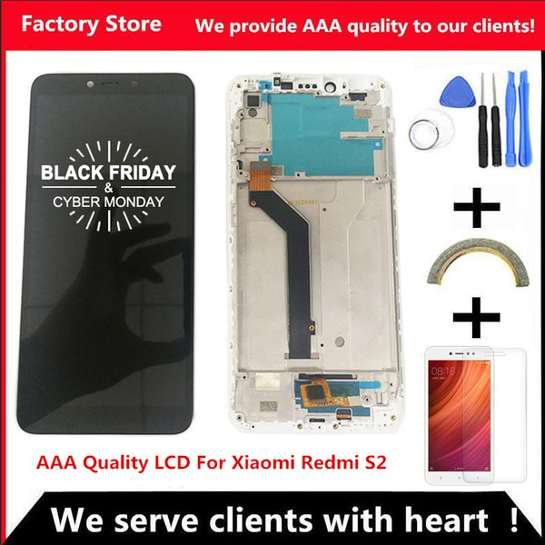 5.99 Inch Quality LCD With Frame For Xiaomi Redmi S2 LCD Display Screen Replacement For Redmi S2 LCD Digiziter Assembly