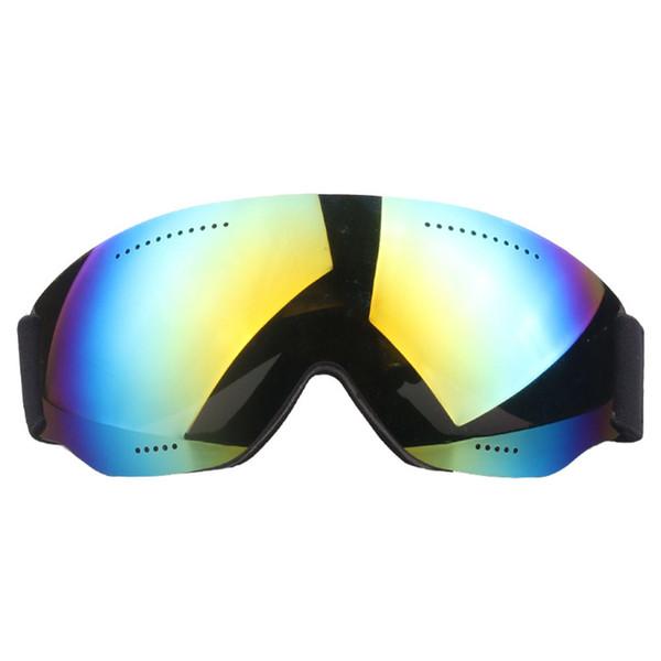 Óculos Fivela Ajustável Proteção UV Único Motorista Anti Nevoeiro Esportes de Inverno Das Mulheres Dos Homens de Esqui Goggle Unisex À Prova de Vento Grande Visão