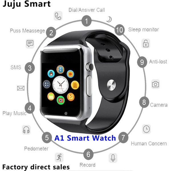 A1 Akıllı İzle Bileklik Android İzle Akıllı SIM Akıllı Cep Telefonu Paketi ile Uyku Devlet Akıllı İzle Cradle