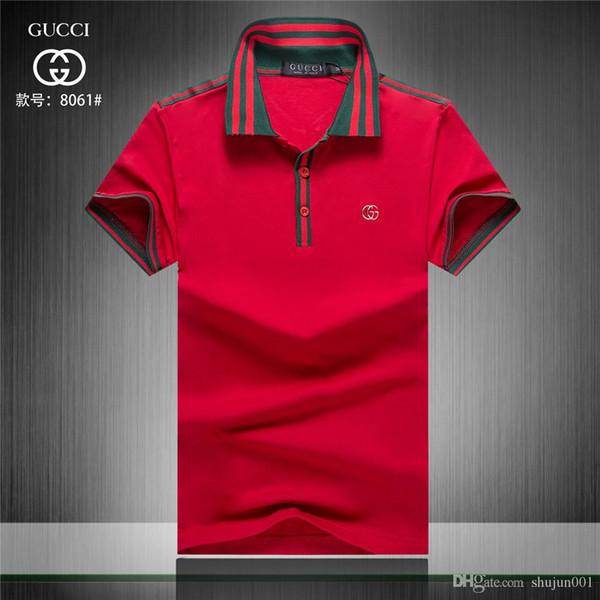 00e2115f8 18ss Men's colors Tesla polo shirts casual men's short-sleeved tesla motors  polo shirt brand