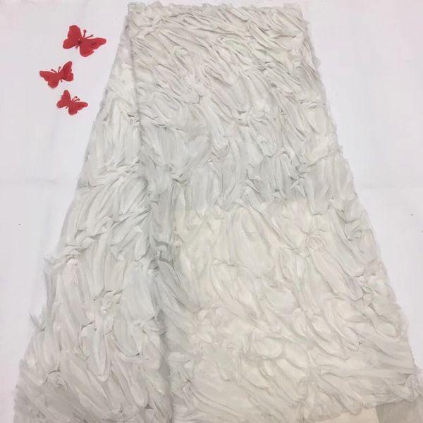 2018 Africano rendas secas tecidos de alta qualidade tecido de renda de algodão para o vestido de festa de moda suíço voile rendas na suíça