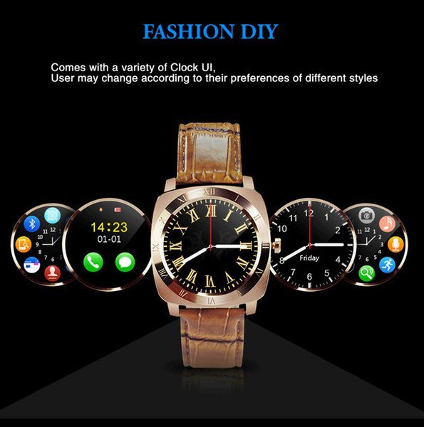 Men X3 Bluetooth Smart Watch With Touch Screen Big Battery Camera TF Sim Card For IOS Android Phone PK Smartwatch DZ09 Q18 U8 V8 A1 GT08