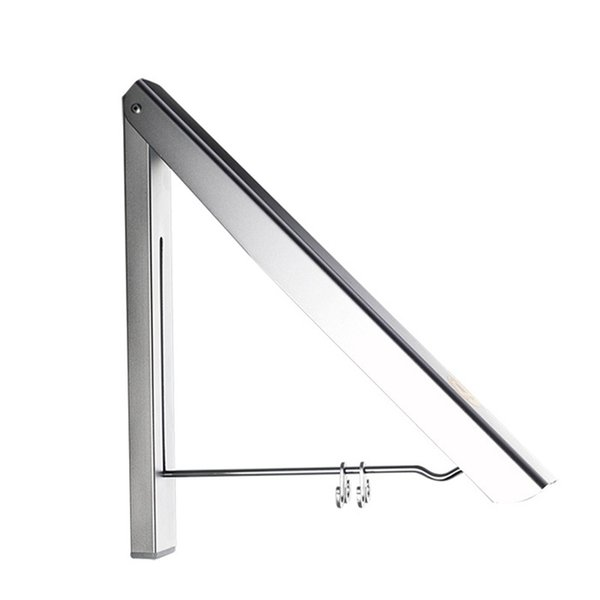 Folding Durable Small Simple Single Layer Bath Hangers Aluminum Hotel And Home Stealth Clotheshorse Bedroom Save Space Clotheshorses 19yfD1