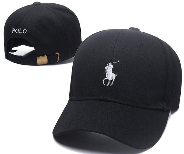 2019 Nouveau Style de haute qualité en os Golf Visière incurvée Casquette de baseball Casquette femmes gorras Ours papa polo chapeaux pour hommes hip-hop Snapback Caps