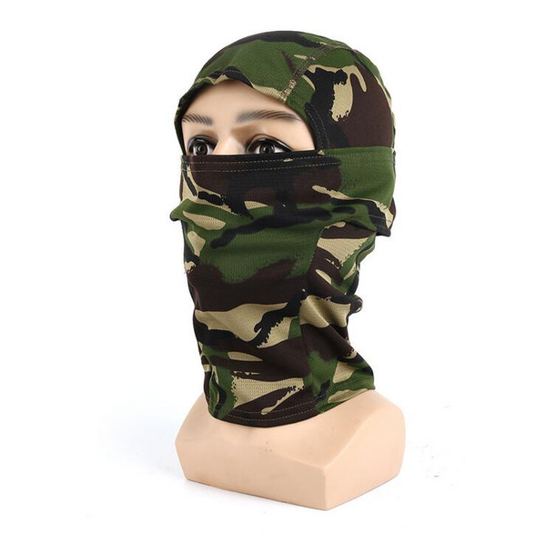 Outdoor Cycling Balaclava Full Face Mask - Bicycle Ski Bike Ride Snowboard Sport Headgear Helmet Liner Tactical Army Hat Cap