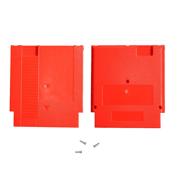 Hard Plastic Case Cartridge Shell Housing Replacement For NES Game Card Adapter 60Pin To 72Pin Converter Card DHL FEDEX EMS FREE SHIPPING