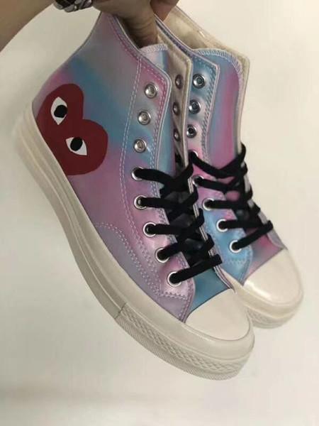 Conve PLAY Chuck 70 Taylor '70 HI Segeltuchschuhe Micro Fibre Fashion Sneakers Designer Trainer