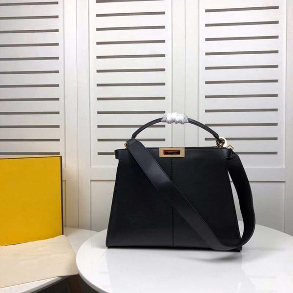 Fady marka dsigner çanta peekaboo X lite kadın tasarımcı çanta moda tote lüks çanta çanta kadife hakiki deri çanta