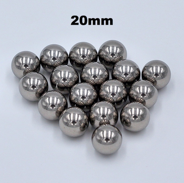 top popular 20mm Chrome Steel Bearing Balls G16 AISI 52100 100Cr6 Precision Chromium Balls For Automotive, Bicycle Components, All Kinds of Bearings 2021