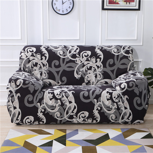 Elastic sofa cover set for living room sofa towel Slip-resistant covers for pets strech Slipcover