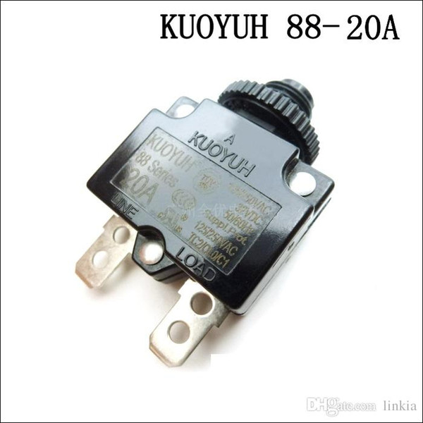 best selling Taiwan KUOYUH Overcurrent Protector Overload Switch 88 Series 20A