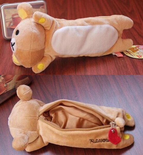 Kawaii 1X 22CM Aprox. Rilakkuma Urso Plush Pelúcia Brinquedo De Pelúcia Para Brinquedos, Urso De Pelúcia Brinquedo COMO boneca Boneca Da Boneca