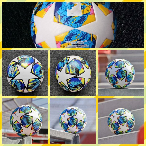 Performance PU Soccer Ball Size 4 Training Football for Adult Children Train