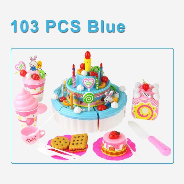 Color:103PCS BLUE