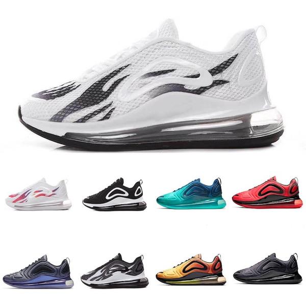 Nike Air Max 720 Progettista di alta qualità 72 scarpe total eclipse al tramonto con luci nordiche da uomo da donna running sneakers 36-45