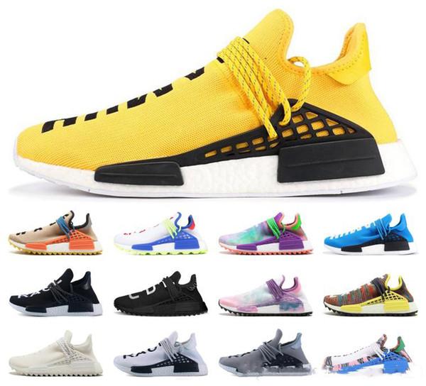 Pharrell Williams Sole Pack Heart Mind NERD men women designer Inspiration Pack White Black Yellow Mens Womens Designer sise7-13
