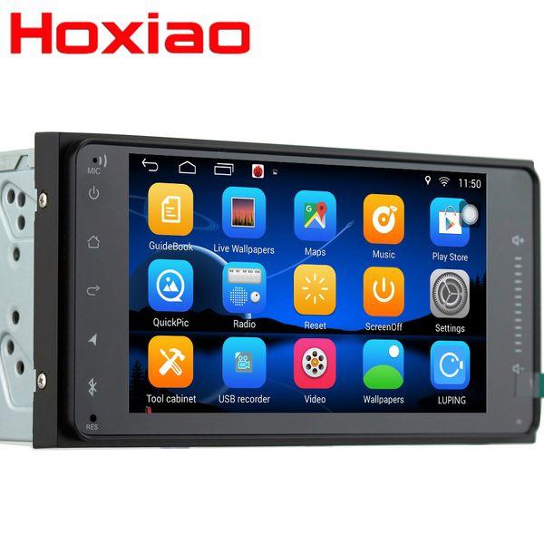 2 DIN Carro DVD GPS para Toyota Terios Velho Corolla Camry Prado RAV4 rádio Universal wi-fi Capacitivo 7 polegada 200 * 100mm Android jogador