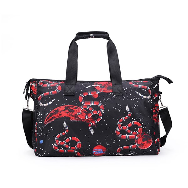 Designer- New Fashion 3D Realistic Print Cool Personality Casual Men and Women Shoulder Bag Handbag