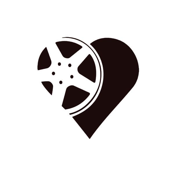 Wheel Heart Whore Decal Funny Car Vinyl Sticker Window Fashion Personality Creativity Classic