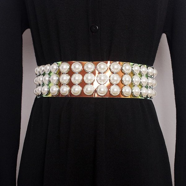 Pearls2 Belt-One Size
