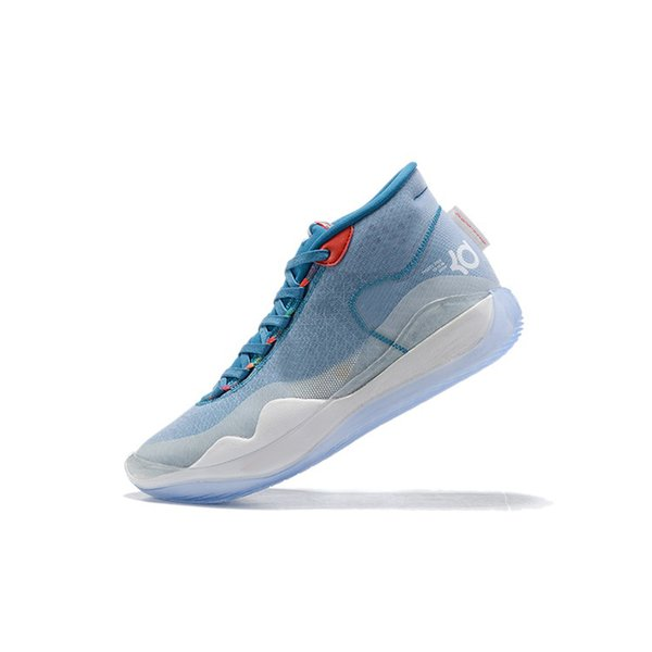 Ice Blue White