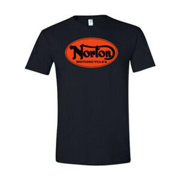 Brand 034 NEW 034 Norton Motorcycle T Shirt